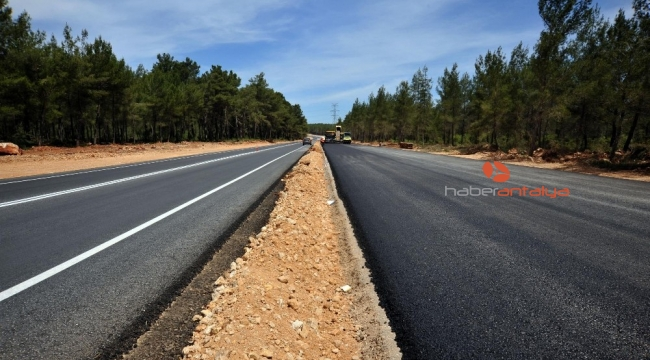 Kepez'e 10 yılda 700 kilometre yol