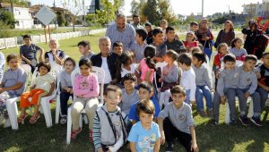Manavgat'ta Gezici Oyun Evi sevinci