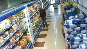 Market hırsızlığı şüphelisi İranlı yakalandı