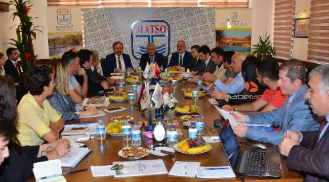 MATSO'da OSB toplantısı