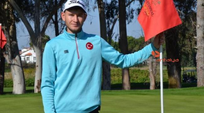 Milli golfçü Taner Yamaç'ın hedefi European Tour'da oynamak