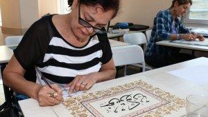 Minyatür sanatından, bilgisayara ASMEK kursları başladı