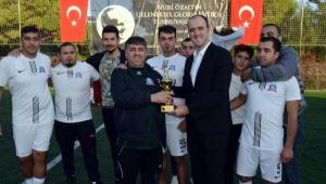 Nuri Özaltın Futbol Turnuvası sona erdi