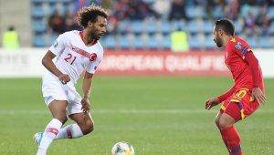 Sangare, milli takımla ilk resmi maçına çıktı
