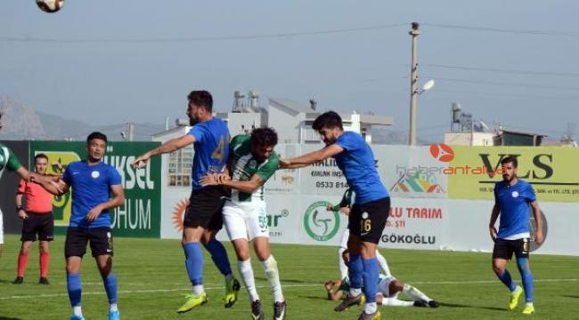 Serik Belediyespor - Karbel Karaköprüspor: 3-1