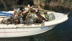 Şifalı su kaynağını çöple doldurdular