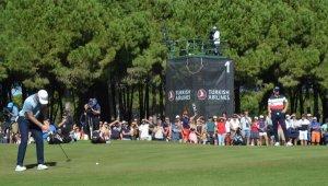 Turkish Airlines Open Golf Turnuvası başladı
