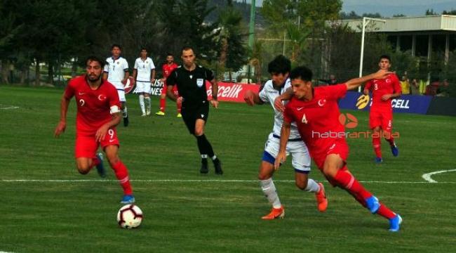 U19 Milli Takımı, Ermenistan'ı 4-1 mağlup etti