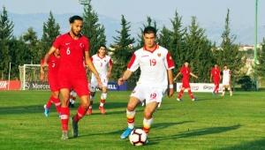 U19 milliler, Karadağ'ı 2-1 yendi