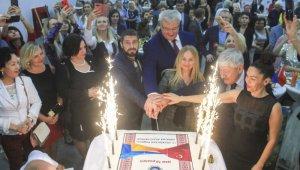 Ukrayna Aileleri Derneği 10'uncu kuruluş yıl dönümüne coşkulu kutlama