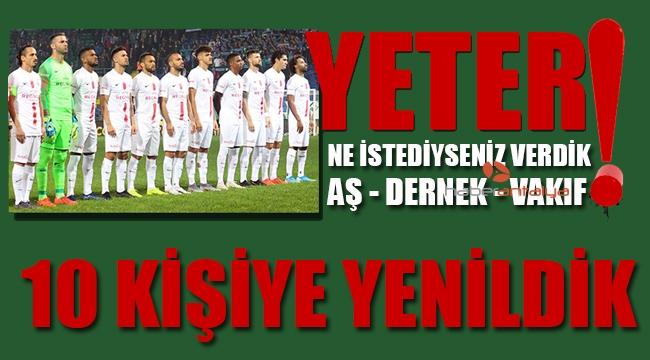 YETER ! Çaykur Rizespor: 1 - Antalyaspor: 0
