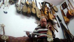 200 parçalık müzik enstrümanları koleksiyonu oluşturdu