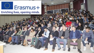 Akdeniz Üniversitesi'nde Erasmus Konferansı
