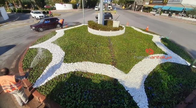 Antalya çiçek açıyor