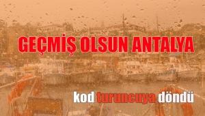 Antalya Meteoroloji Bölge Müdürlüğü tarafından Antalya için