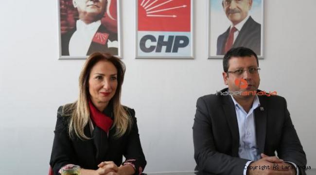 Aylin Nazlıaka, partisine dönmesini değerlendirdi