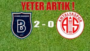 Başakşehir 2 - 0 Antalyaspor