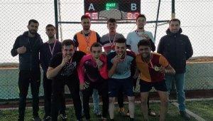 Elmalı MYO'da futbol turnuvası