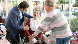 Emniyet Müdürü Ulucan engelli aileleriyle bir araya geldi