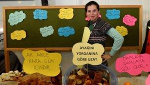 Engelsiz Kafe'de Yerli Malı Haftası kutlandı