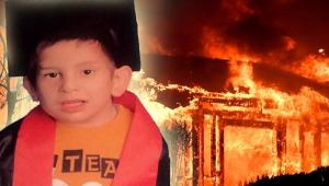 Gecekonduda yangın çıktı, 9 yaşındaki engelli İbrahim öldü