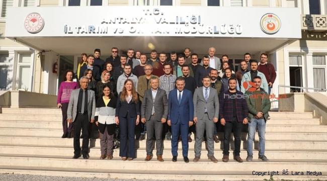 Güvenilir gıda için yeni kontrol görevlileri Antalya'da yetişiyor