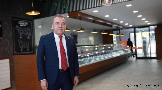 Halk Et Kepez Satış Mağazası açıldı