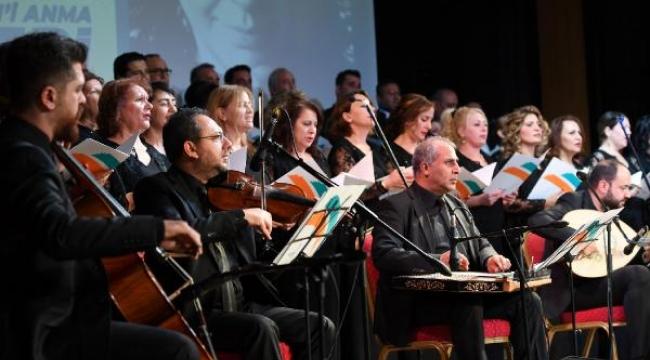 Konyaltı Belediyesi TSM Korosu'ndan anma konseri
