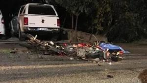 Motosikletler kafa kafaya çarpıştı: 1 ölü, 1 yaralı