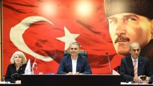 Muratpaşa'da yılın son meclisi