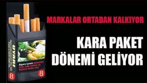 Sigarada kara paket uygulaması