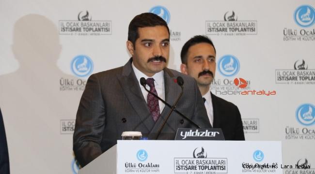 Ülkü ocakları genel başkanı Sinan Ateş: