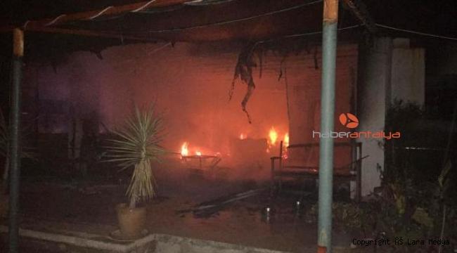 Tuğba Özay'ın komşusu İngiliz çiftin evi yandı