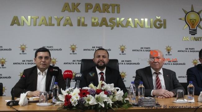AK Parti'den Antalya menfaati için red oyu
