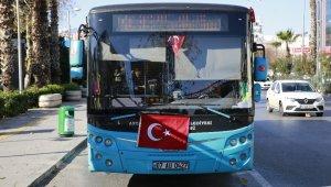 AP'deki çirkin saldırıya Antalya'dan bayraklı tepki