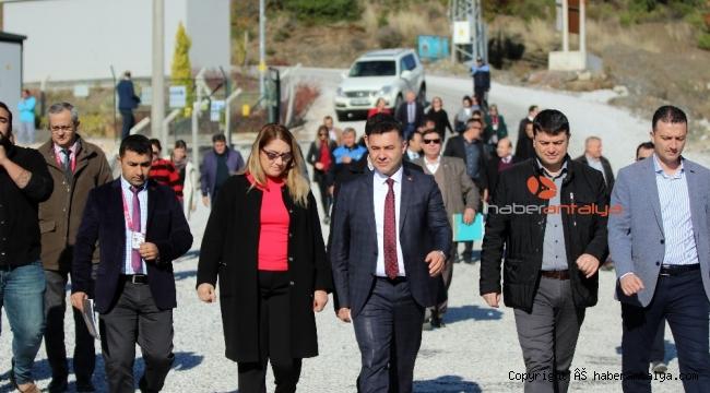 Başkan Yücel Batı Alanya'yı keşfe çıktı