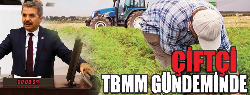 Çiftçinin sorunları TBMM kürsüsünde