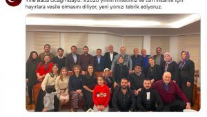 Dışişleri Bakanı Çavuşoğlu'ndan aile fotoğraflı yeni yıl mesajı