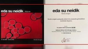 Eda Su Neidik / Hücre Resim Sergisi Antalya' da
