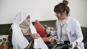 Evde bakım hizmetinden 9 ayda 4 bin 552 yaşlı ve hasta faydalandı.