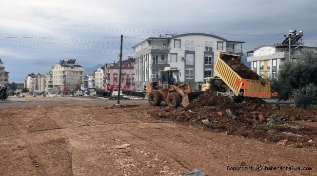 Kepez'deki yeni açılan yol nefes aldıracak