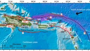 Porto Riko'daki depremler harita değiştirtti