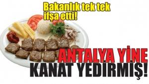 Tarım Bakanlığı listeyi açıkladı Antalya hileden vazgeçmedi!