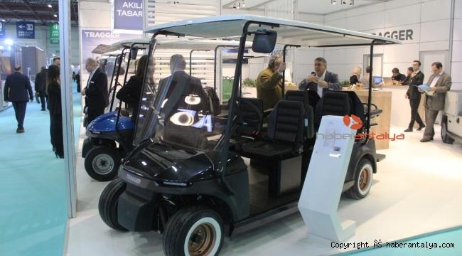 TRAGGER yerli ve mili hizmet araçlarıyla ANFAŞ'ta görücüye çıktı