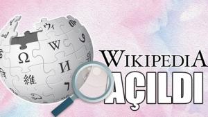 Wikipedia 3 yıl sonra açıldı