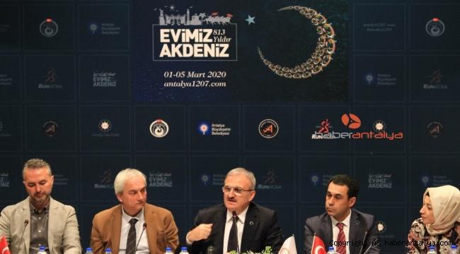 Antalya fethinin 813'üncü yıldönümü