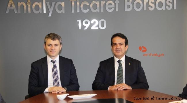 """ATB Başkanı Çandır: """" Vergi sisteminin daha adil olabilmesi için tabana yayılması gerekli"""""""