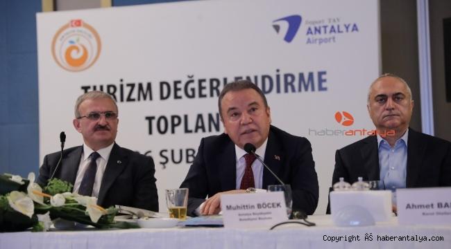 """Başkan Böcek: """"Antalya Büyükşehir Belediyesi 2020 turizm sezonuna hazır"""""""
