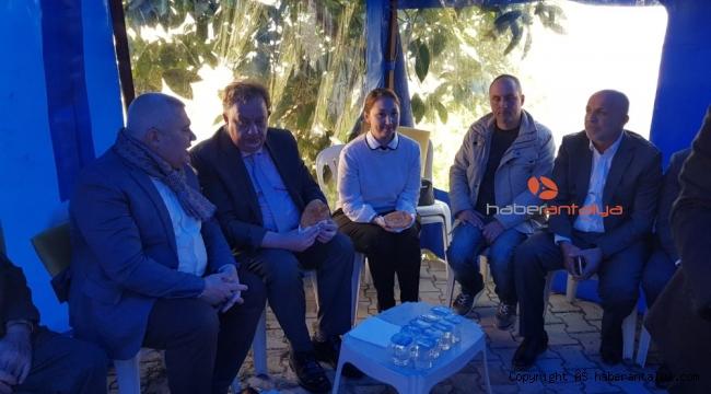 Başkonsolosu Oleg Rogoza'dan taziye ziyareti