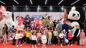 Konyaaltı Çocuk Festivaline 40 bin ziyaretçi